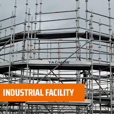 Industrial Facility  - Multidirectional Scaffolding System