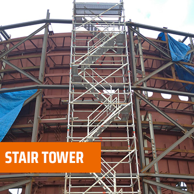 Stair Tower  - Multidirectional Scaffolding System