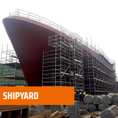 shipyard - Multidirectional Scaffolding System